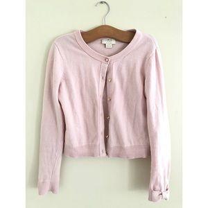 Kate Spade pink size 10 bow cardigan
